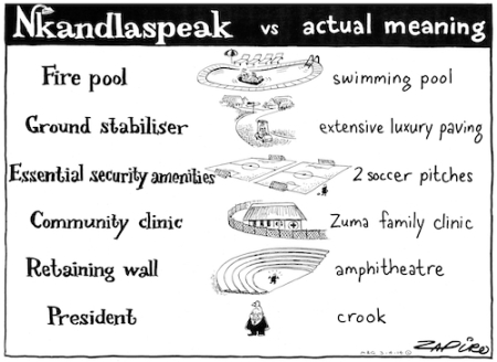 Nkandlaspeak